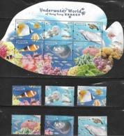 Hong Kong - 2019 - Underwater World Of Hongkong - Yv ??? - Fishes