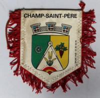 Fanion Pompiers De Champ Saint Père Vendée Amicale Des Sapeurs Pompiers - Firemen