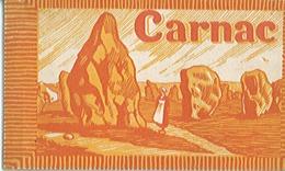 CARNET DE 9 CARTES COULEURS - Une L'un Des Géants Des Ménec - Carnac