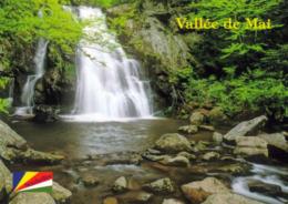 1 AK Seychellen Insel Praslin * Wasserfall Im Nationalpark Vallée De Mai - Seit 1983 UNESCO Weltnaturerbe * - Seychellen