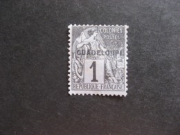 Guadeloupe: N°14, Neuf X. - Unused Stamps