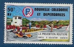 """Nle-Caledonie Aerien YT 177 (PA) """" Prévention Routière """" 1977 Oblitéré - Luftpost"""