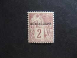 Guadeloupe: TB N°15, Neuf XX. - Guadeloupe (1884-1947)