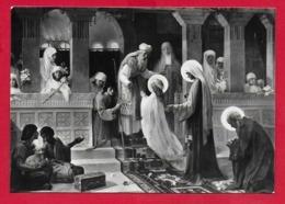 CARTOLINA NV ITALIA - La Presentazione Al Tempio - Santuario SS. Maria Bambina MILANO - 10 X 15 - Pittura & Quadri