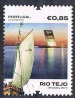 2018 - PORTOGALLO / PORTUGAL - RIO TEJO. USATO / USED. - 1910 - ... Repubblica