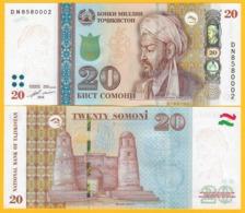 Tajikistan 20 Somoni P-25 2018 UNC Banknote - Tadzjikistan