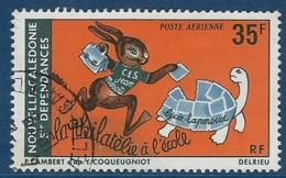 """Nle-Caledonie Aerien YT 186 (PA) """" Philatélie à L'école """" 1978 Oblitéré - Luftpost"""