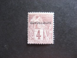 Guadeloupe: TB N°16, Neuf X. - Unused Stamps