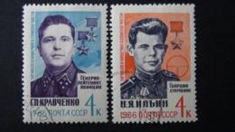 UdSSR - 1966 - Mi:SU 3187-8, Sn:SU 3167-8, Yt:SU 3069-70 Used - Look Scan - 1923-1991 UdSSR