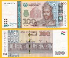 Tajikistan100 Somoni P-27b 2017 UNC Banknote - Tadzjikistan