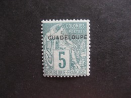 Guadeloupe: TB N°17, Neuf XX. - Unused Stamps