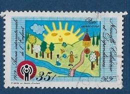 """Nle-Caledonie Aerien YT 194 (PA) """" Année Enfant """" 1979 Oblitéré - Luftpost"""