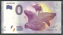 Billet Touristique 0 Euro 2017-2   NAUSICAA - EURO