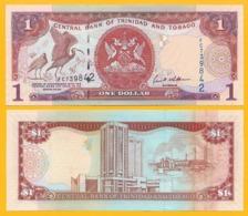 Trinidad & Tobago 1 Dollar P-46 2006 Sign. Williams UNC Banknote - Trinidad & Tobago