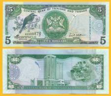 Trinidad & Tobago 5 Dollars P-47a 2006 Sign. Williams UNC Banknote - Trinidad En Tobago