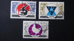 UdSSR - 1966 - Mi:SU 3175-7, Sn:SU 3147-9, Yt:SU 3056-8 Used - Look Scan - 1923-1991 UdSSR