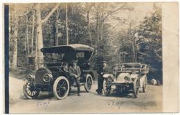 MANCHESTER, MA - Carte Photo - Automobiles - Etats-Unis