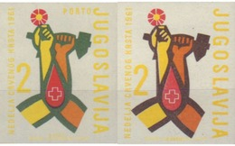 Ref. 584693 * MNH * - YUGOSLAVIA. 1961. WEEK OF THE RED CROSS . SEMANA DE LA CRUZ ROJA - Unused Stamps