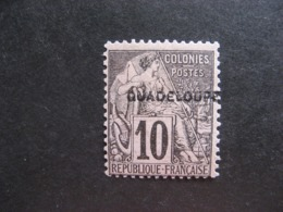 Guadeloupe: TB N°18, Neuf X. - Unused Stamps