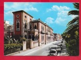 CARTOLINA VG ITALIA - REGGIO CALABRIA - Corso Vittorio Emanuele - 10 X 15 - 1966 AMBULANTE MESSINA NAPOLI - Reggio Calabria