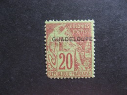 Guadeloupe: N°20, Neuf X. - Unused Stamps
