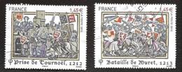 TIMBRES FRANCAIS....OBLITERATION RONDE...HISTOIRE DE FRANCE...2013...N°4828/4829..  SCAN - France