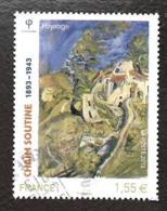 TIMBRES FRANCAIS....OBLITERATION RONDE...CHAÏM SOUTINE...N°4716....2013...SCAN - Francia