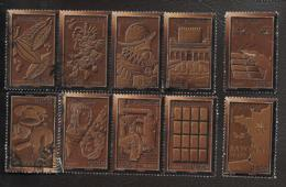 TIMBRES FRANCAIS...SERIES CHOCOLAT... N°4357/4366...2009...SCAN - France