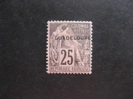 Guadeloupe: TB N°21, Neuf X. - Unused Stamps