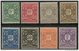 Haut Senegal Et Niger (1915) Taxe N 8 à 15 * (charniere) - Ongebruikt