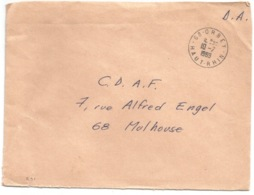 R91 - ORBEY Avec Code Postal 68 - 1969 - Franchise Postale Allocation Familiale - - Marcophilie (Lettres)