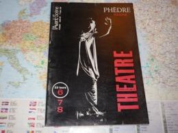 L'Avant-Scène Théâtre N°342 Phèdre Racine - Cinéma
