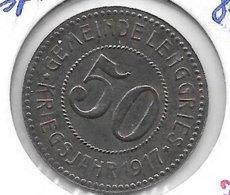 *notgeld Lenggries 50  Pfennig 1917. Fe   F 287.2 Rare !!! - Altri