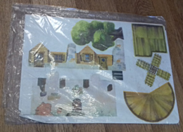 Planches à Découpage: 'Blanche Neige Et Les 7 Nains' (Esso) - Vieux Papiers