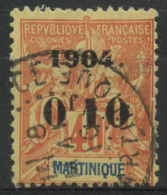 Martinique (1904) N 55 (o) - Martinique (1886-1947)
