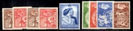 Grande-Bretagne YT N° 171/174 Neufs *, N° 238 Neuf ** MNH Et N° 256/259 Neufs ** MNH. B/TB. A Saisir! - Unused Stamps