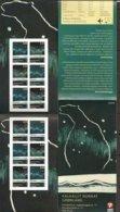 "GROENLANDIA/ GREENLAND / GRÖNLAND - EUROPA 2009 -TEMA ""ASTRONOMIA"" - BOOKLET Of 6 SETS ADHESIVE Perf. 12 1/4 X 12 1/2 - Europa-CEPT"