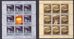 Europa Cept 2000 Yugoslavia 2v Sheetlets ** Mnh (44932C) K.O. PRICE - 2000