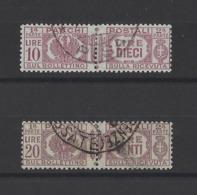 ITALIE.  YT  Colis Postaux  N° 16-19   Obl  1914 - Paketmarken