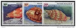 Polynésie, N° 503 à N° 505** Y Et T - Polynésie Française