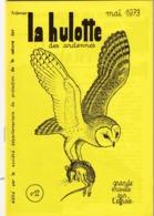 La Hulotte Des Ardennes, N° 12 ; Grande Enquête Sur L'Effraie - Nature