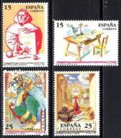 España. Spain. 1991. Centenarios. Juan De La Cruz. Fray Luis Leon. Ignacio Loyola. Adb Al-Rahman III - 1991-00 Ungebraucht