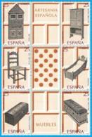 España. Spain. 1991. Artesania Española. Muebles. Spanish Crafts. Furniture - 1991-00 Nuevos & Fijasellos