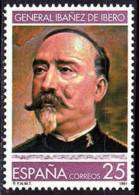España. Spain. 1991. General Carlos Ibañez. Geodesia - Militares