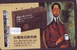 Télécarte Japon * PEINTURE ITALIE * MODIGLIANI  *   ART (2556)  Japan * Phonecard * KUNST TELEFONKARTE - Pittura