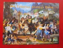 Österreich / Austria 2010; Art, Paintings, Andreas Hofer; MNH** Neuf; Postfrisch!! - 1945-.... 2. Republik