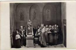 Cotignac (83) Notre-Dame De Grâces Les Offrandes Pour La Reconstruction Du Sanctuaire - Santons Dont Un évêque - Cotignac