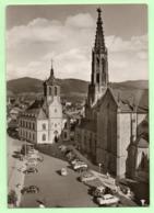 CPSM -  BUHL / BADEN  - Kirche Mit Rathaus - VOITURES Vintages - - Buehl