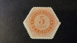 Belgique - Timbres Télégraphe: Timbre Numéro TG9  état Neuf - Telegraph