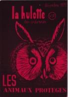 La Hulotte Des Ardennes, N° 17 ; Les Animaux Protégés - Nature